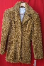 Reference Clothing Co Fur Jacket / Coat in Brown Size Small 70263AW