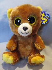 """HONEY the Brown Bear - TY Beanie Boo 6"""" ~ MINT with MINT TAGS"""