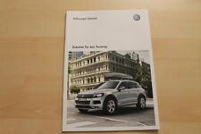 74829) VW Toureg 7P Zubehör Prospekt 04/2010