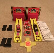 Crash Test Dummies Race Set With Instructions And Cars Vintage 1993 Action Toy
