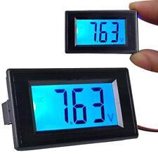 LCD Afficheur Voltmètre Digital Rétroéclairé Bleu 20V