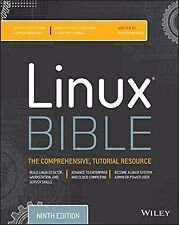Linux Bible 9th Edition by Christopher Negus (Author) Free Shipping New