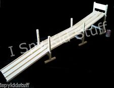 Handcrafted Amish Wood Wooden Toy Race Car Track w 5 RAMPS Over 9 FEET! *SO COOL
