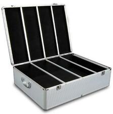 Aluminium CD DVD Bluray Storage Case Box 1000 Discs 2 Lock Cd & Dvd Storage