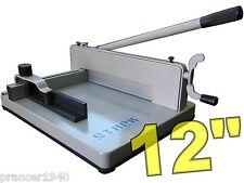 New Original STACK™ S12 Paper Cutter - Heavy Duty Desk Top Guillotine