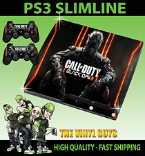 Playstation Ps3 Slim pegatina Cod Black Ops Iii Call Of Duty bo3 Skin + Pad Skins