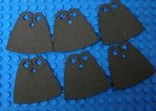 6x CUSTOM Capes For LEGO Minifig - Standard Cape Body Wear BROWN *Cape Only*