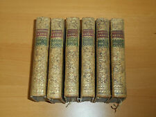 Bible Old Testament lot of 6 antique books 1741 religion theology sacred history