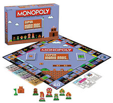 Super Mario 8bit Collector's Edition Monopoly ✔ Dispatched from UK ✔