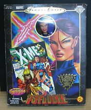 PSYLOCKE - MARVEL DIVAS - FAMOUS COVER 8 INCH COLLECTOR'S TOY BIZ - NUOVO SEALED
