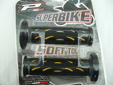 SUPERBIKE GRIPS,  ROAD BIKE BAR GRIPS, BY PRO-GRIP (yellow)