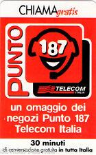CHIAMAGRATIS - PUNTO 187 TELECOM ITALIA - 15/09/2000 - NUOVA