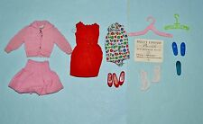 Vintage Barbie - Skipper Mixed Lot - School Days, Day at Fair, Shoes, Etc.