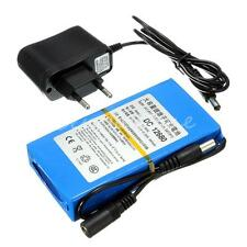 Super Rechargeable Protable Li-ion Battery DC 12V 6800mAh + EU Plug