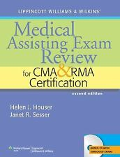 Medical Assisting Exam Review for CMA and RMA Certification by Janet R....