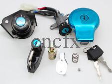 Ignition Switch+Gas Cap+Seat Lock Keys For Yamaha VIRAGO XV125 XV250 XV535 XV240