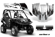 AMR Racing CanAm Commander Graphic Decal Kit UTV Accessories All Years CARBONX S