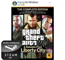 Grand Theft Auto IV 4 Complete Edition Llave PC de Steam