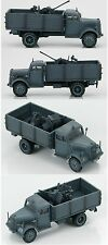 HOBBY MASTER HG3909 1/72 German Truck With 2cm Flak Gun Luftwaffe Flak 38 Abt.