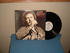 "GORDON LIGHTFOOT: DREAM STREET ROSE     12""     33 RPM      LP"
