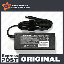 Original Adapter Charger TOSHIBA Satellite L555 P200 P300 P300D 19V 6.3A 120W