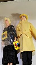 Vintage Disney Dick Tracy and Breathless Mahoney 10 Inch Dolls by Applause