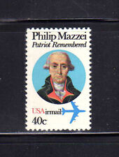 ESTADOS UNIDOS/USA 1980 MNH SC.C98 Air mail,Philip Mazzei
