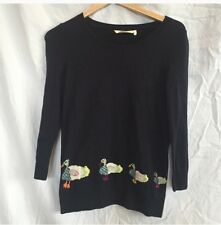 Anthropologie Rare Ducks In A Row Pullover S
