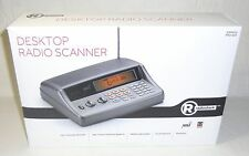 New RadioShack PRO-650 200 Channel Desktop Scanner Pre-Programmed PC NOAA w/ FM