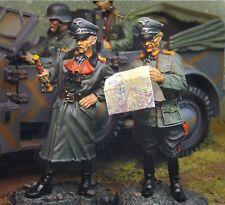 THE COLLECTORS SHOWCASE WW2 GERMAN CS00345 ROMMEL & ADJUTANT ATLANTIC WALL MIB