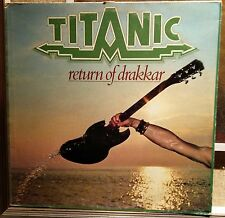 Titanic ‎– Return Of Drakkar Lp Italian issue 1977 VG+/NM with Inner