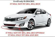 2014 2015 KIA Optima Front Bumper Lower Lip Valance Textured Black 86591-4C500