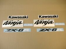 ZX-6R 2005 Ninja decals stickers graphics kit set autocollants aufkleber zx6r 06