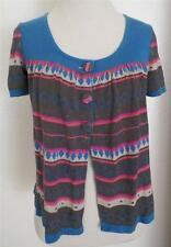 Urban Outfitters Kimchi & Blue Sweater Shirt Southwest 3 Button Front M