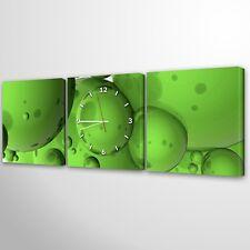 Wanduhr Modernes Design Lautlos Wohnzimmer Leinwand Mehrteilig Uhr035