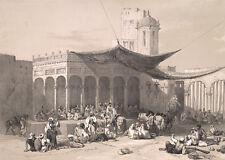 """Sikh Solders Maharaja Ranjit Singh atop the Lahore Fort, Repro Art Print 7x5"""""""