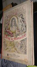 ANCIEN LIVRE LES CONTES DE PERRAULT 1904