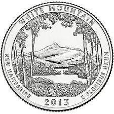 QUARTER DOLLAR DES ETATS-UNIS 2013 D - WHITE MOUNTAIN NATIONAL FOREST