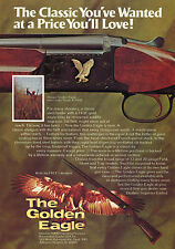 1975 Print Ad of Nikko The Golden Eagle Over Under Grade II Field Shotgun