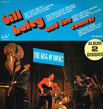 """LP 12"""" 30cms: Bill Haley and the Comets: the king of rock. festival 2LP"""