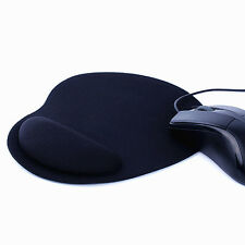 Black Comfort Wrist Support Mat Mouse Mice Pad Computer PC Laptop Rest Hot