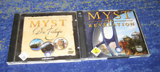 Myst Complete I - IV  PC alle Deutsch MYST 1 - 4 PC kpl. Deutsch