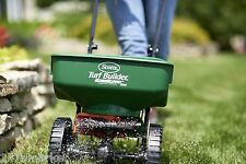 NEW! Scotts Turf Builder EdgeGuard Mini Broadcast Spreader Gardening Yard FASTSH