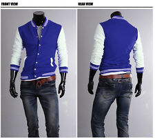 Casual Unisex Varsity Baseball Letterman Jacket College Sports Jacket USA Seller