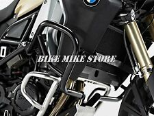 Estribo protector Protection Guard negro. bmw f 800 GS Adventure (13 -)
