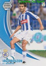 258 IAGO BOUZON ESPANA RC.RECREATIVO CARD LIGA MEGACRACK 2008 PANINI