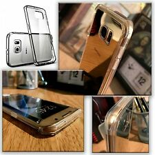 Samsung Galaxy S7 Edge Genuine Rock Cover Ultra Rugged Transparent Clear Case