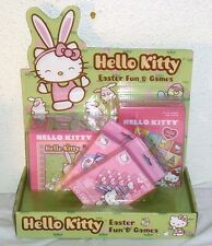 NEW HELLO KITTY EASTER TOY GIFT BASKET SET