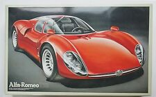 FUJIMI 1/16 Alfa Romeo Tipo 33 Stradale big scale vintage rare model kit