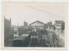 Foto Frankreich Bahnhof Calais  1941   2.WK  (B832)